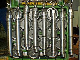 Chemisch Nickel Anlagentechnik für Gestellware