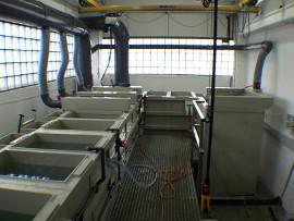 Chemisch Nickel-Anlage Schüttgut